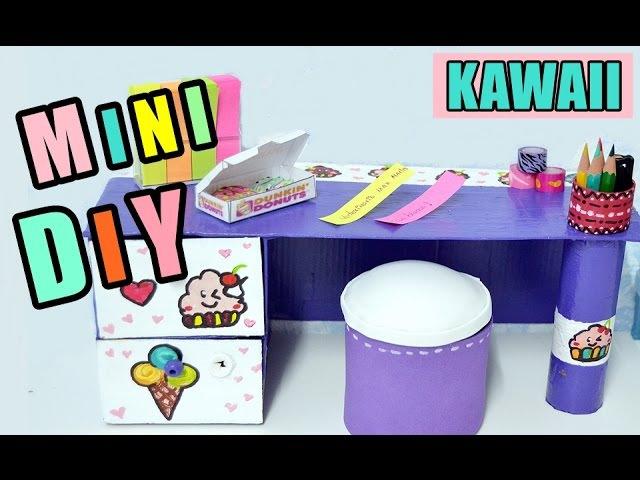 Mini Escritorio Organizador KAWAII, MANUALIDADES fáciles para hacer en CASA- BeagleArts ♥