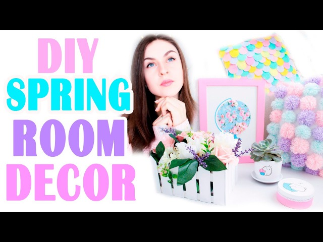 DIY Весенний ДЕКОР Комнаты * Spring Room Decor * Bubenitta