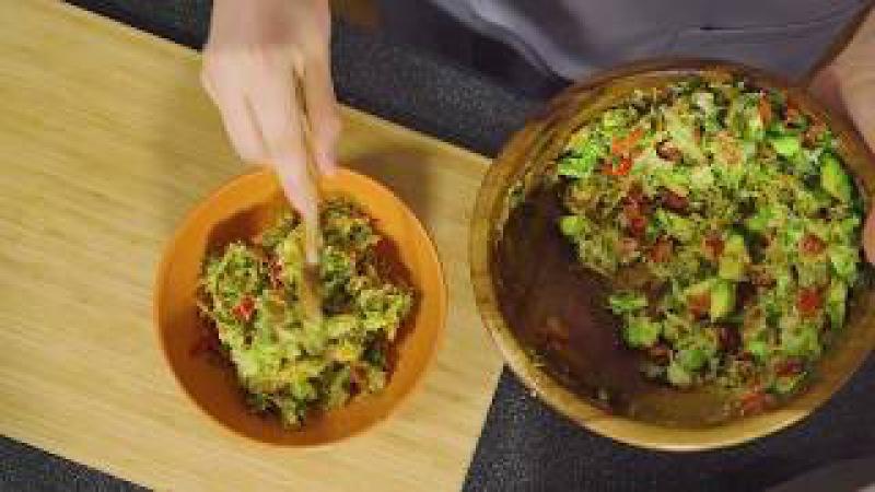 Сыроедческие щи   Зеленый сыроедческий суп от Веган-гурман