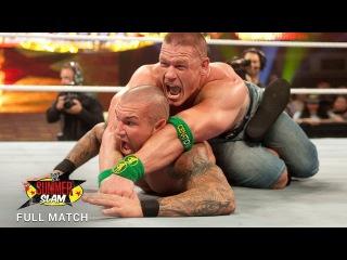 [#My1] FULL MATCH - John Cena vs. Randy Orton - WWE Title Match: SummerSlam 2009 (WWE Network Exclusive)