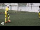 Футбол в слепую