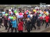 ДЕНЬ ТРУДА.  Праздничная демонстрация трудящихся.
