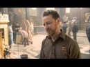 "Muppets Most Wanted: James McAvoy ""UPS Guy"" On Set Movie Interview"