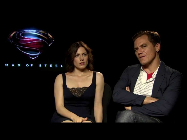 Digital Spy Man of Steel - Interview with Michael Shannon Antje Traue