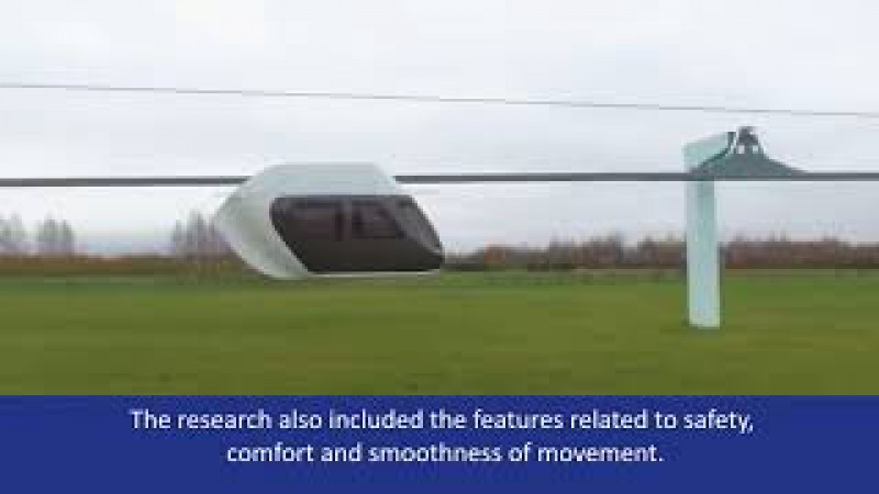 Acceptance Tests of SkyWay Rolling Stock. New Transportation. Investments