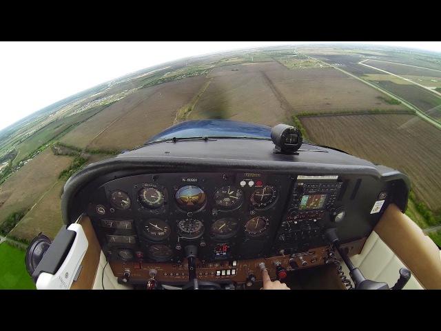Full Length Flight | Touch Goes | Cessna 172 Skyhawk