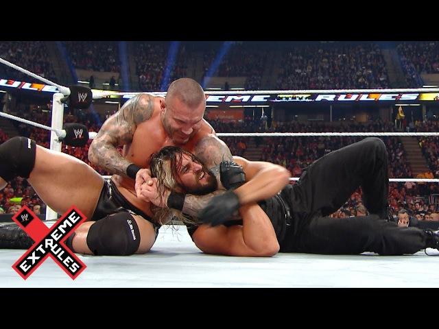 FULL MATCH - The Shield vs. Evolution: Extreme Rules 2014 (WWE Network Exclusive)