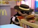 McDonald's Hamburglar commercial 1986