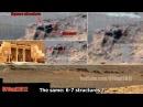 Starověké cizinci na Marsu chrám fasáda vchod starověké sloupy a překladu