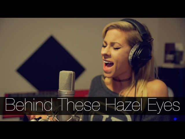 Kelly Clarkson - Behind These Hazel Eyes (Andie Case Cover)