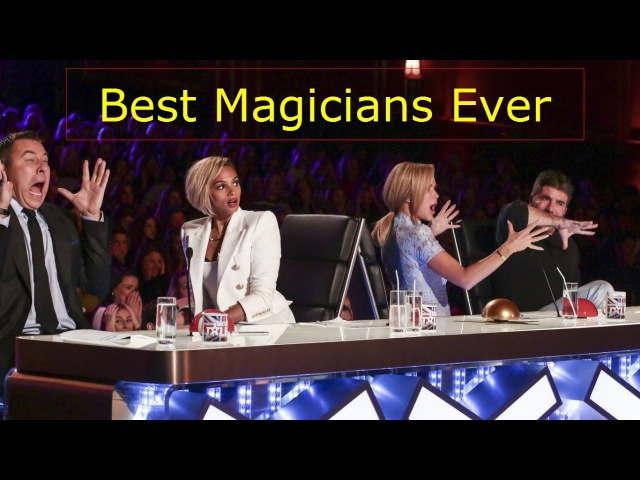 American And Britain's Best Magician Ever ! Best Of Got Talent Magic Performances