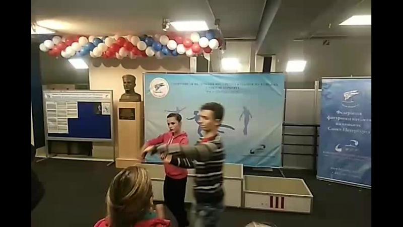 Награждение, танцы, Мемориал Панина, Санкт-Петербург