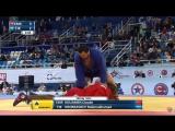 (CMR) Claude - (TJK) Khorkashev Nabimukhammad 100 kg