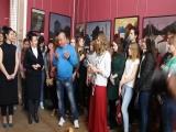 Открытие  выставки Снежаны Однодворцевой