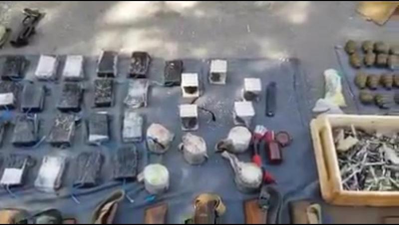 Силы безопасности совершили рейд на спящую ячейку боевиков в городе Хама