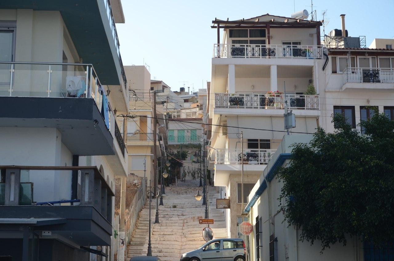 rtn9HpCQvc4 Сития – оживленный городок в Восточной части Крита.