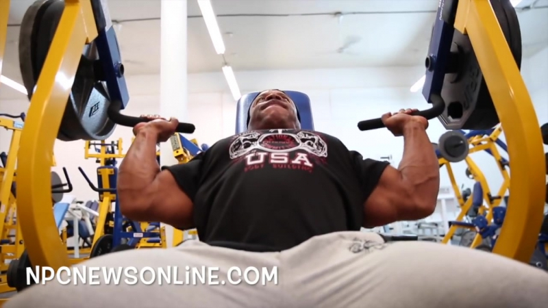 6-Time Mr.Olympia Phil Heath 2017 Workout From The NPC Photo Gym