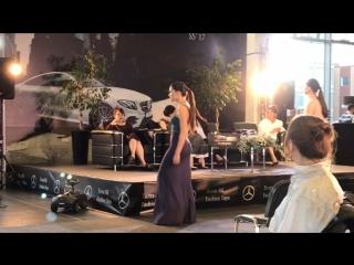 Показ Mercedes Fashion Week