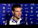 Cesar Azpilicueta - 'We'll keep working hard to improve and to become a better team.' 💪