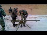 Стрельбы из СПГ-9 Копьё (Укропы)