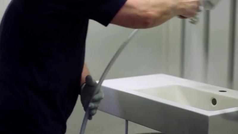 Ванная комната по космическим технологиям Alape