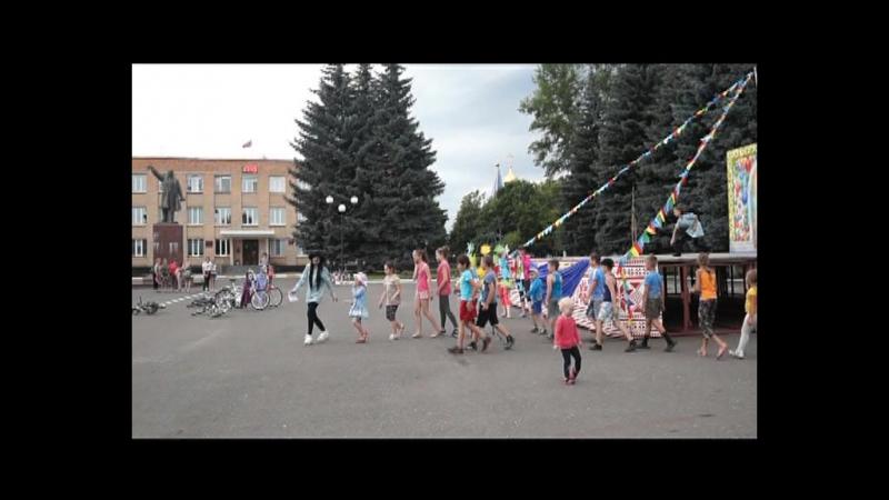 1 июля Конкурсно-игровая программа для детей на открытой площадке