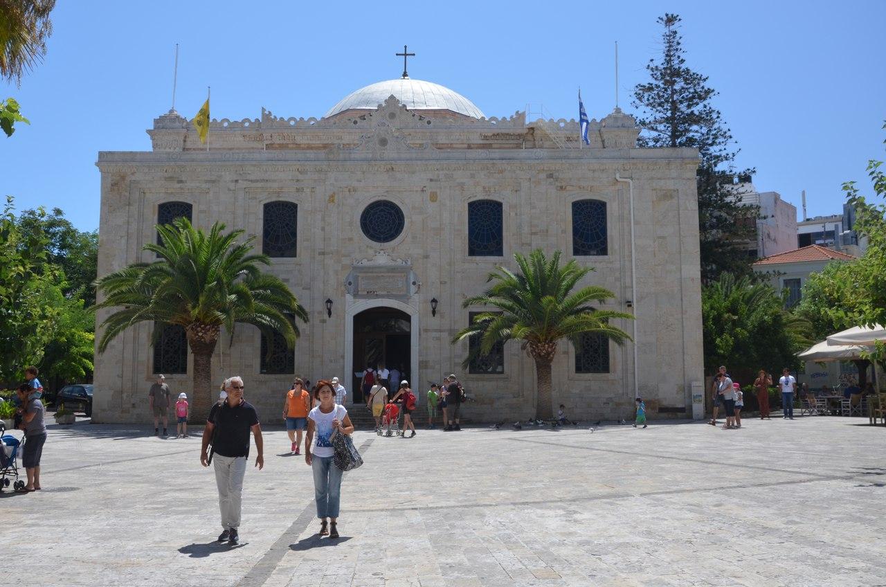 kOcSOwPr3_8 Ираклион столица о. Крит достопримечательности.
