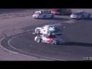 Уникальная авария на гонках