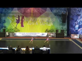 Miami. Freestyle Pom double. Children. Zdanukevich, Zhohlik