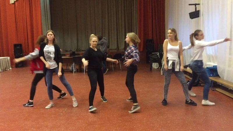 Танец для Алисы в стране чудес - 1 репетиция