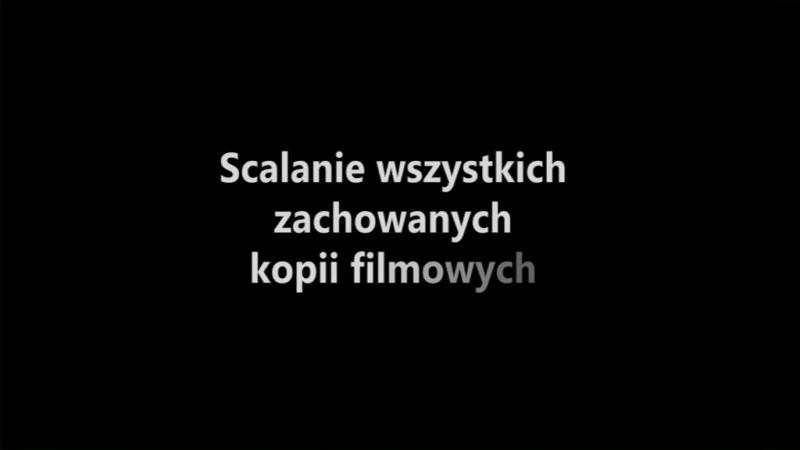 Zew morza 1927 Генрик Шаро о реставрации фильма