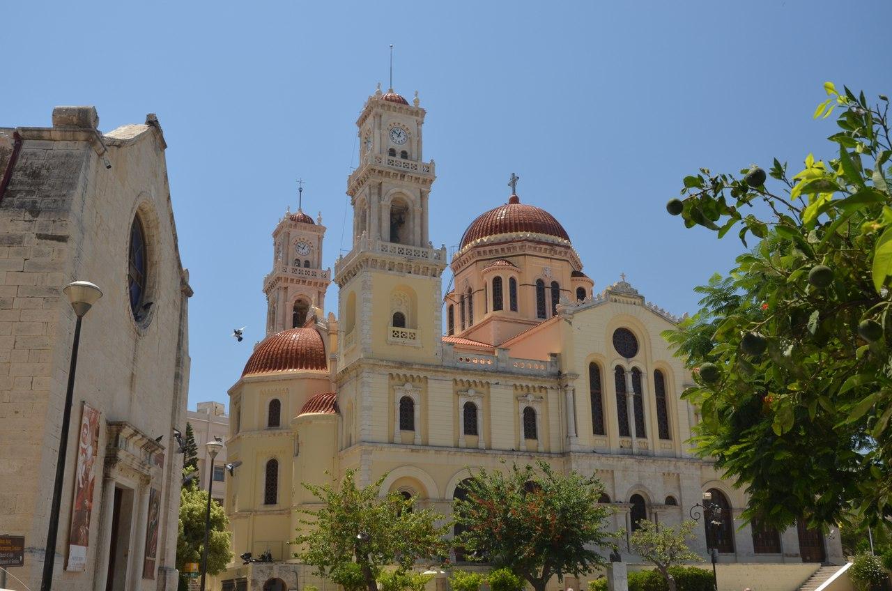 c-vcLXbfgpc Ираклион столица о. Крит достопримечательности.