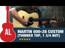 Martin 000-28 MV Custom (Thinner Top and 1 3/4″ Nut Width)
