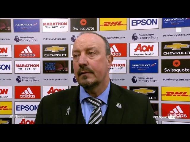 Rafa Benitez Post Match Interview: Talks About Man United's big Spending