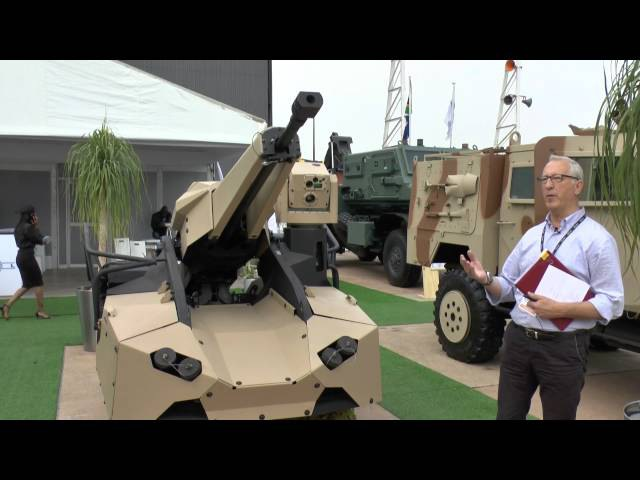 AAD 2016: TRT-R30 Tactical Remote Turret