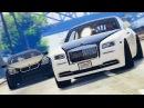 ДРИФТ В GTA 5 - ДРАГ Rolls-Royce. ДРИФТ BMW M6 F13. ЧАЙЗЕР НА ЧИП-ТЮНИНГЕ.