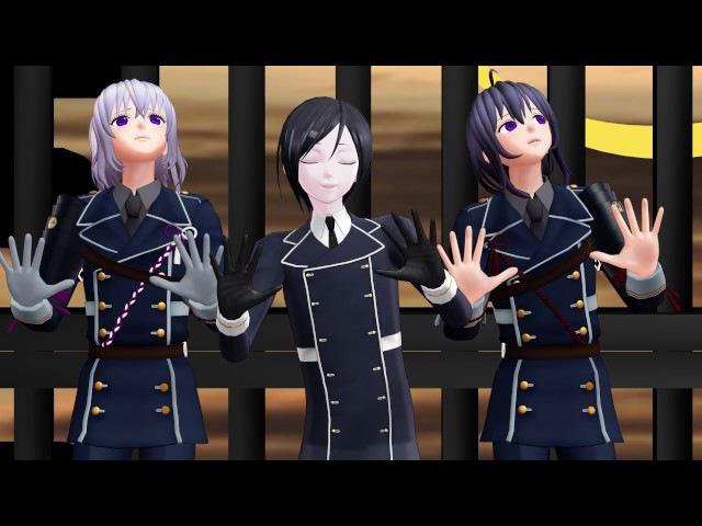 [MMD] Let's Groove (Namazuo Yagen Honebami)