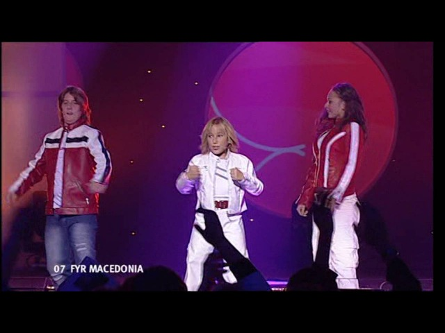 Junior Eurovision 2004: Martina Siljanovska - Zabava (F.Y.R. Macedonia)