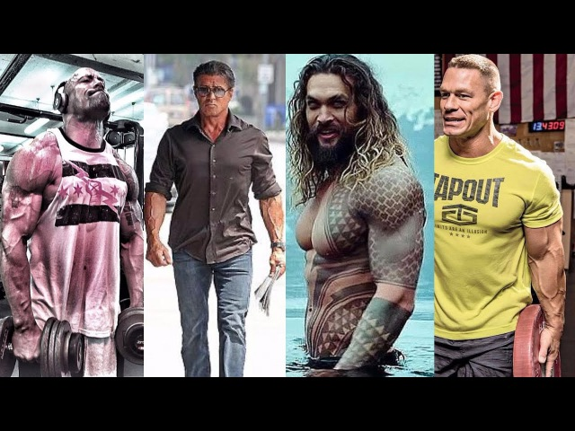 10 Actors Who Are BEASTS And SHREDDED STRONG 2017-2018