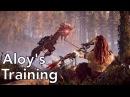 Horizon: Zero Dawn - Aloy Training Montage