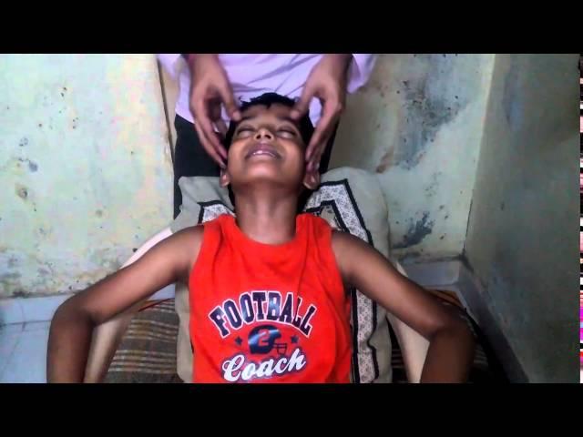 Массаж головы для детей (Индия, Дели) индийская техника