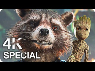 GUARDIANS OF THE GALAXY Vol 2 All Trailers 4K UHD (2017)