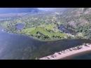 Горный Алтай Телецкое озеро Южный берег с DJI Phantom 4