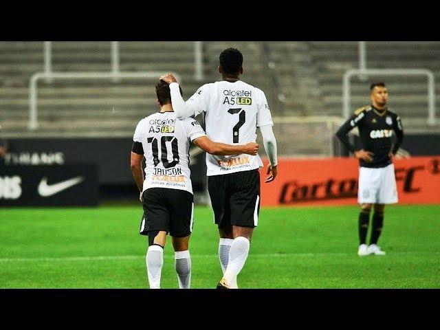 Corinthians 2 X 0 Ponte Preta Gol Jadson SEGUE O LÍDER Brasileirão 2017