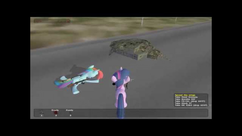 Operation Flashpoint Resistance My Little Pony test