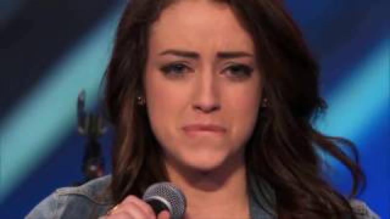 Аллилуйя. Самый красивый голос в мире! Весь зал начал плакать.