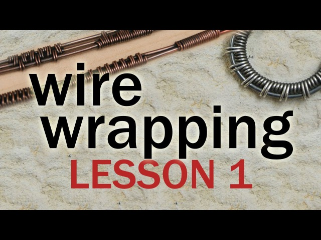 WIRE WRAPPED jewelry - first lesson ) technika wire wrapping, lekcja pierwsza, podstawy