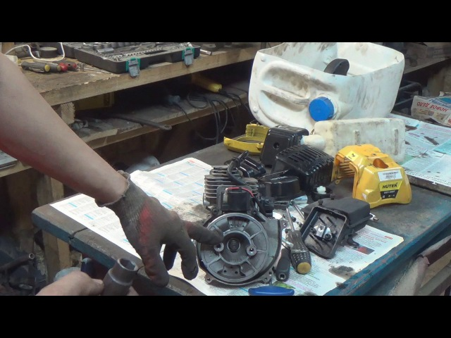 ремонт китайской бензокосы ч 1 htvjyn rbnfqcrjq ,typjrjcs x 1