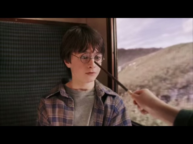 Harry, Ron and Hermione First Meet | Harry Potter and the Philosopher's Stone