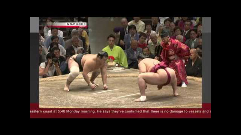 Sumo - Natsu Basho 2017 Day 15 - May 28th